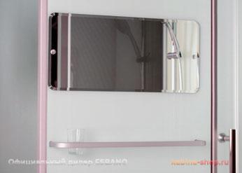 Душевая кабина Esbano - зеркало и полочка