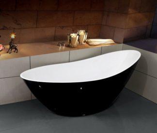 Акриловая ванна Esbano London Black