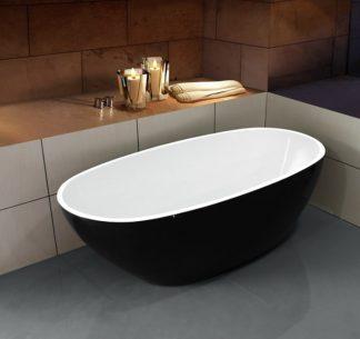 Акриловая ванна Esbano Sophia Black