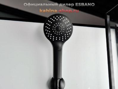 Душевая кабина ESBANO ESB Black Душевая лейка