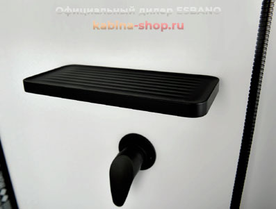 Душевая кабина ESBANO ESB Black полочка